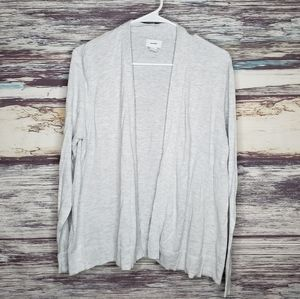 Old navy gray open front cardigan size xl